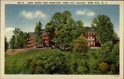 MH-2 Edna Moore New Dormitory, Mars Hill College, Mars Hill, N.C