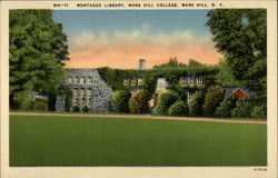 Montague Library Postcard