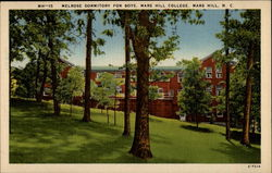 Melrose Dormitory for Boys, Mars Hill College