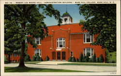 Robert Lee Moore Hall, Administration Building, Mars Hill College