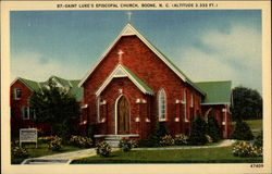 Saint Luke's Episcopal Church Postcard