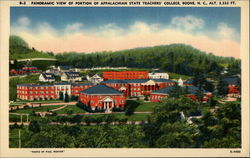 Panoramic View of Portion of Appalachian State Teachers' College, Boone, N. C., Alt. 3,333 Ft