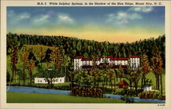 White Sulphur Springs, in the Shadow of the Blue Ridge
