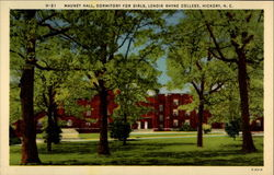 Mauney Fall, Dormitory For Girls, Lendir Rhyne College