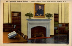 Refernce Room of the Carl A. Rusisill Library, Lenoir Rhyne College