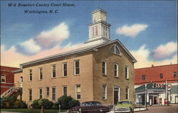 Beaufort County Court House Postcard