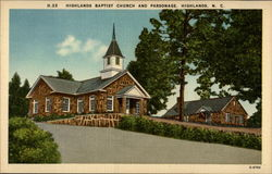Highlands Baptist Church and Parsonage