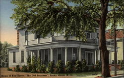 "Home of Kay Kyser, ""The Old Professor"", Rocky Mount, N.C"