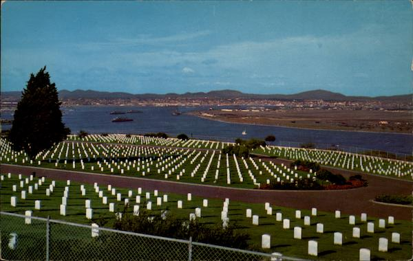 Fort Rosencrans National Cemetery San Diego California
