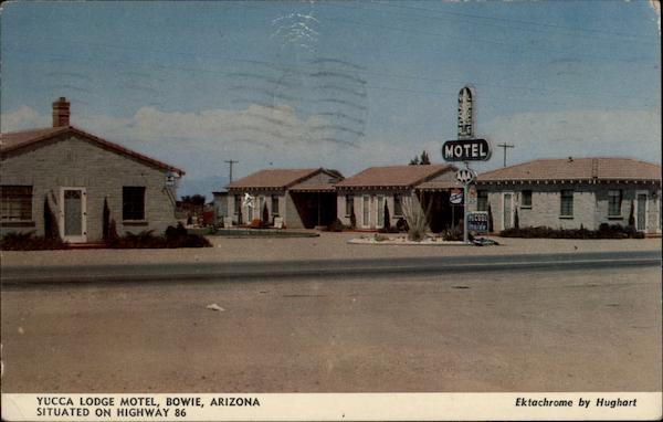 Yucca Lodge Motel Bowie Az