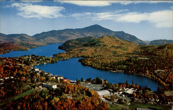 Majestic Mountains Lake Placid New York