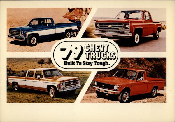 79 Chevy Trucks Built to Stay Tough