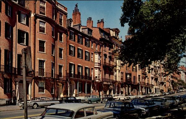 Beacon Street Boston Massachusetts