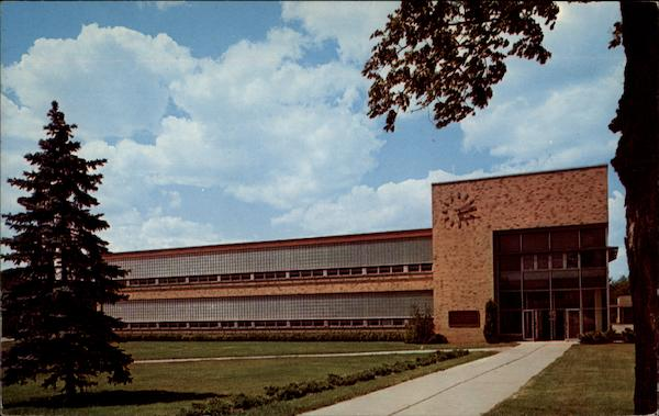 Harlow H. Curtice Community College Building Flint Michigan