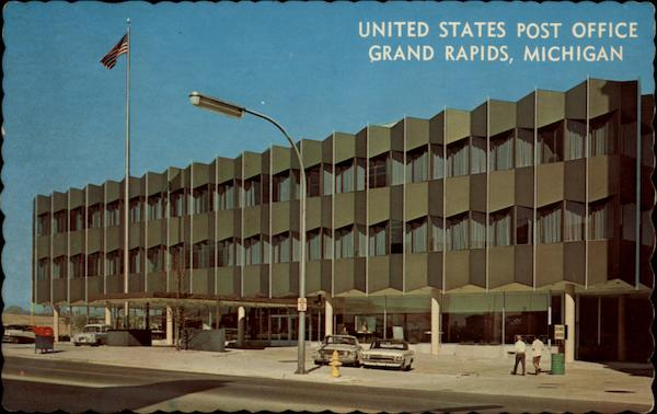 Grand Rapids (MI) United States  city images : United States Post Office Grand Rapids, Michigan Grands Rapids, MI