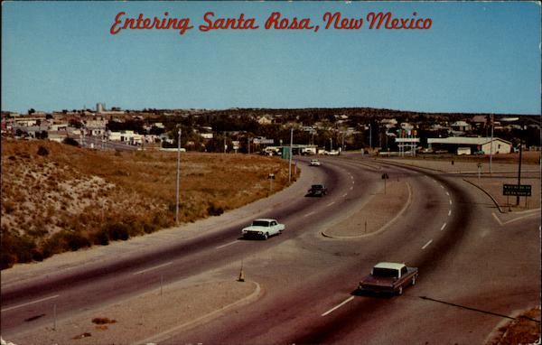 Entering Santa Rosa New Mexico