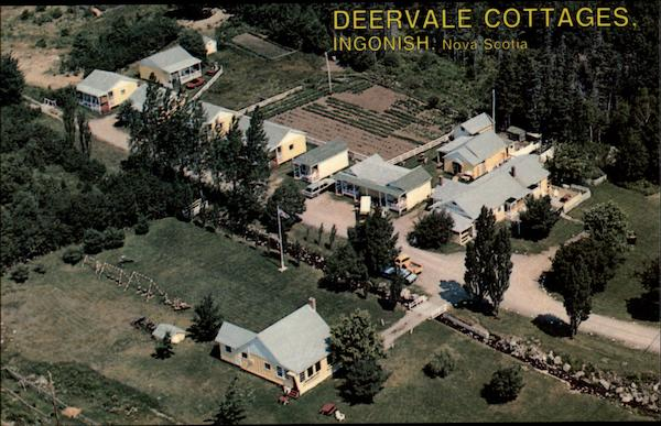 Deervale Cottages Ingonish Nova Scotia