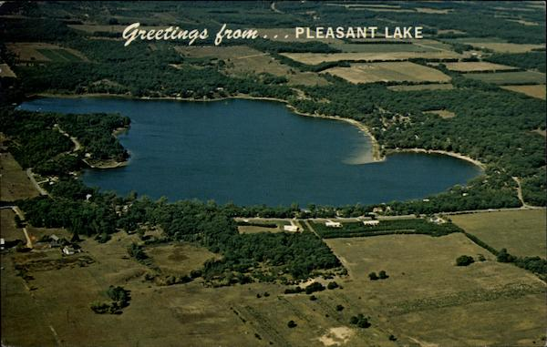Lake Link Wi >> Pleasant Lake Coloma, WI