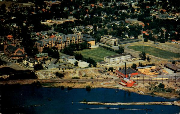 Aerial View - Gonzaga College Spokane Washington