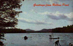Greeting from Rollins Pond Postcard