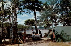 Camp Scene at Fish Creek