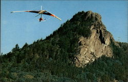 Hang gliding from the Peaks, Grandfather Mountain