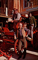 Bonanza Actors with Rare Horsedrawn Equipment