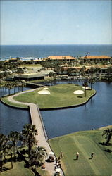 Aerial view of Ponte Vedra's Famous Island Ninth