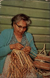 Indian Basket Maker