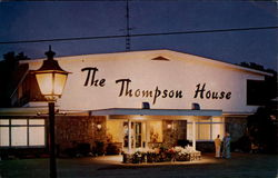 Main building at The Thompson House