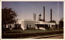 Office Building of the Cooperative Refinery Postcard