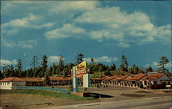 Skyline Motel Postcard
