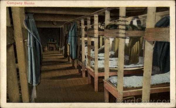 Company Bunks World War I