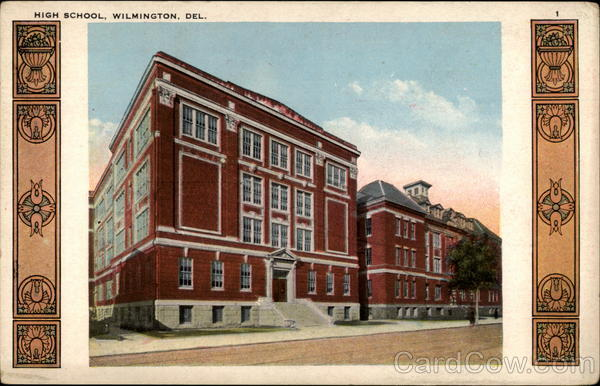 High School, Wilmington, Del Delaware
