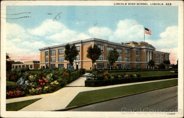 Lincoln High School, Lincoln, Neb Nebraska