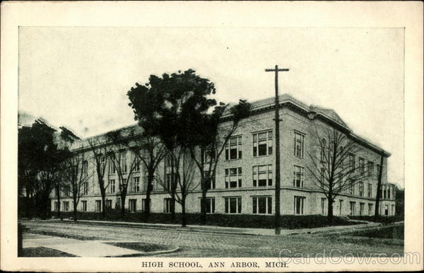 High School Ann Arbor Michigan