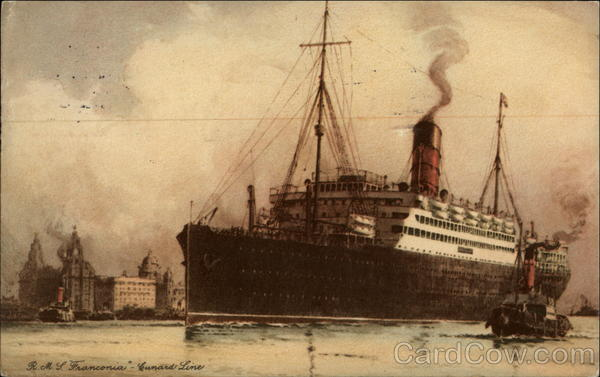 RMS Franconia-Cunard Line Steamers