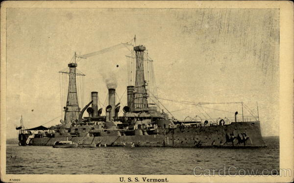 U.S.S Vermont Boats, Ships
