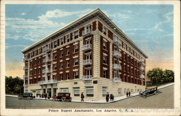 Prince Rupert Apartments Los Angeles California