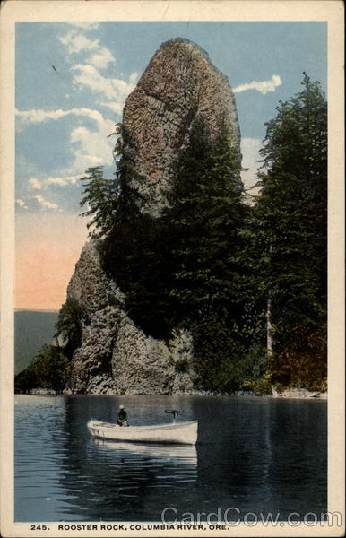 Rooster Rock, Columbia River Ore Oregon
