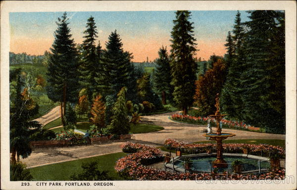 City Park Portland Oregon