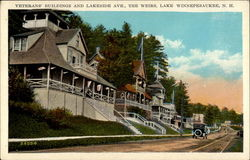 Veteran's Buildings and Lakeside Ave., The Weirs, Lake Winnepesaukee, N.H