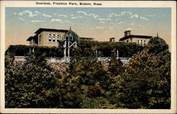 Overlook, Franklin Park, Boston, Mass