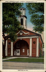 First Congregational Church, erected in 1812