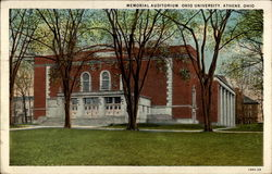 Memorial Auditorium, Ohio University, Athens, Ohio