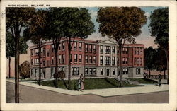 High School, Belfast, ME