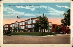 High School and Gymnasium, Loganport, Ind