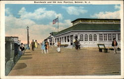 Boardwalk and 5th Ave. Pavilion, Belmar, N.J