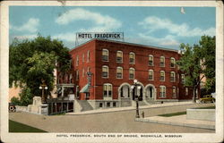 Hotel Frederick, South end of Bridge