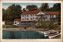 Lakeside Inn on Lake Champlain